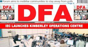 The DFA Today - 20160801