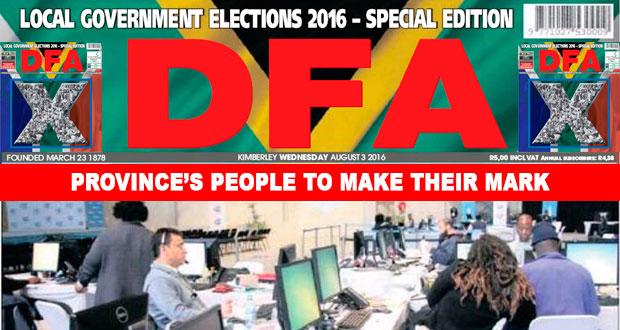 The DFA Today - 20160803