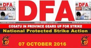 The DFA Today - 20161005