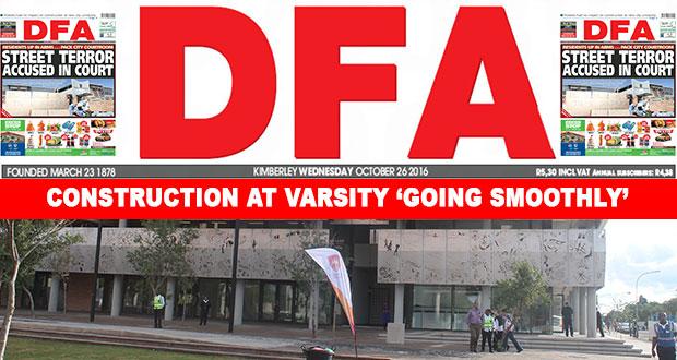 The DFA Today - 20161026