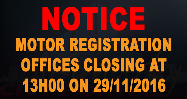 Motor_Registration_Offices_Closing_Early-PT-20161129