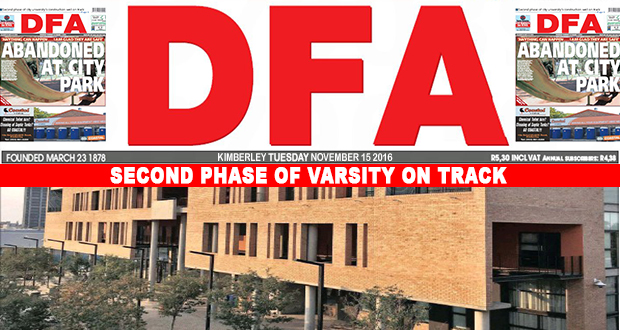 The DFA Today - 20161115