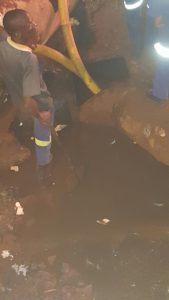 Kimberley Water Shutdown - Bultfontein Road Foto
