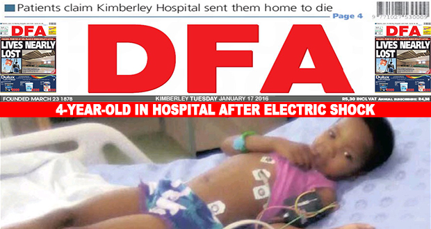 4-Year-Old in Hospital after electric shock
