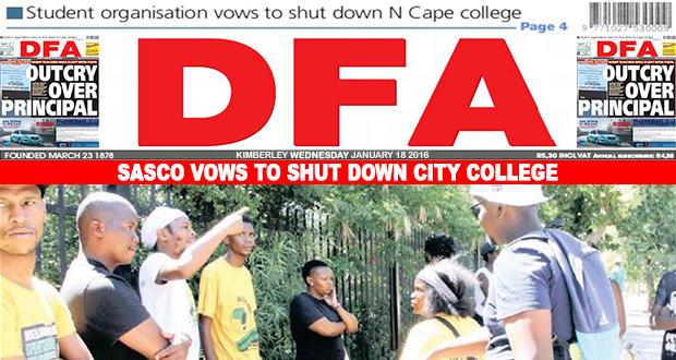 Sasco vows to shut down city college