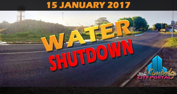 Kimberley Water Shutdown - 15 January 2017