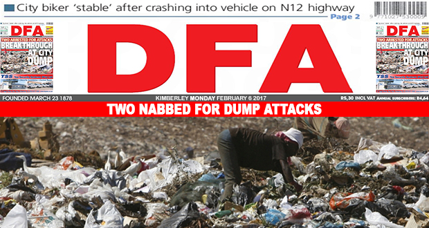 Two nabbed for dump attacks