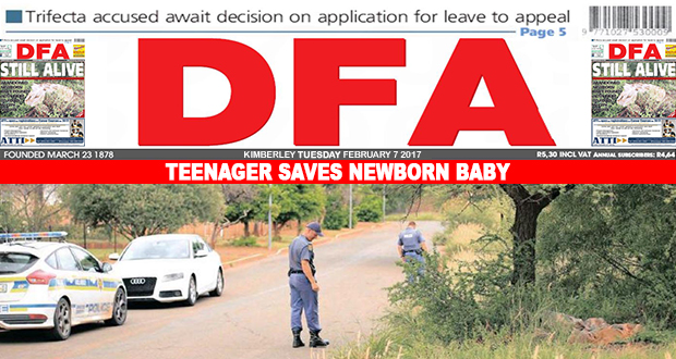 Teenager saves newborn baby