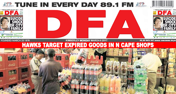 Hawks target expired goods in N Cape Shops