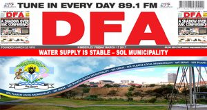 Water supply is stable – Sol Municipality