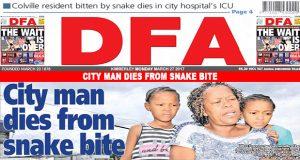City man dies from snake bite