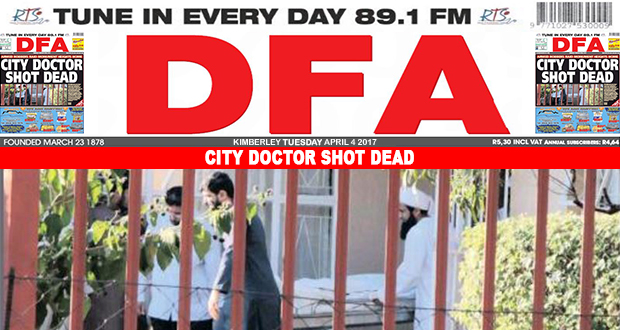 CITY DOCTOR SHOT DEAD