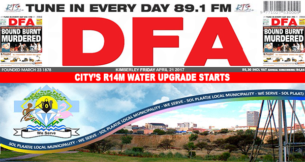 City's R14m water upgrade starts