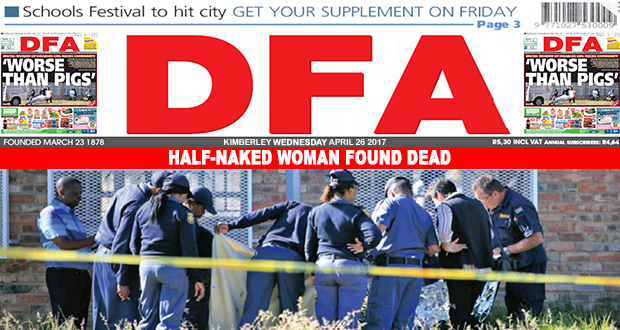 Half-naked woman found dead