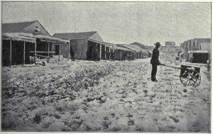 A-snowfall-in-Kimberley-1876