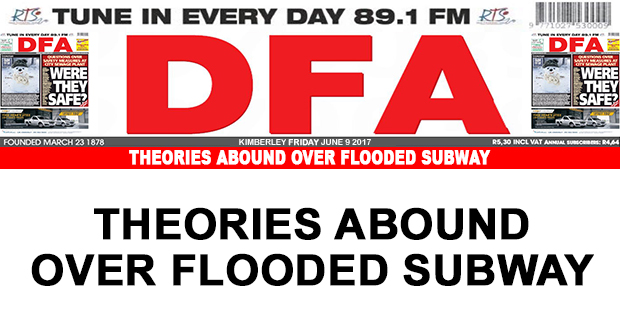 Theories abound over flooded subway