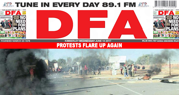 Protests flare up again