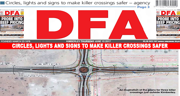 Circles, lights and signs to make killer crossings safer