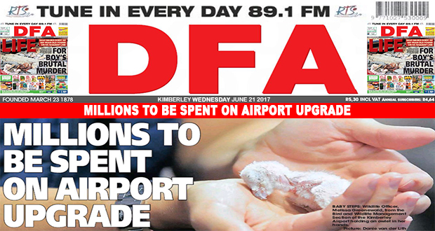 MILLIONS TO BE SPENT ON AIRPORT UPGRADE