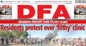 Residents protest over 'filthy' clinic