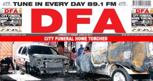 City Funeral Home Torched