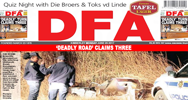 'Deadly road' claims three