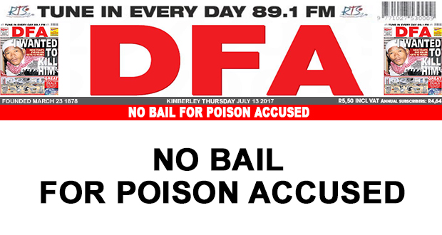 No bail for poison accused