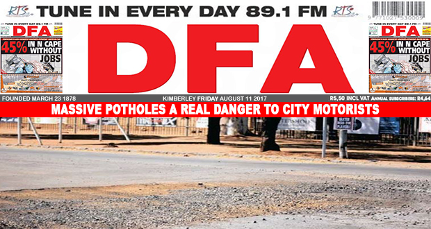 Massive potholes a real danger to city motorists