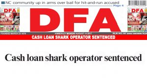 Cash loan shark operator sentenced