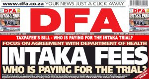TAXPAYER'S BILL - Who is paying for the Intaka trial?