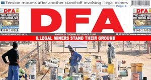Illegal miners stand their ground