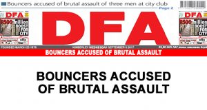Bouncers accused of brutal assault