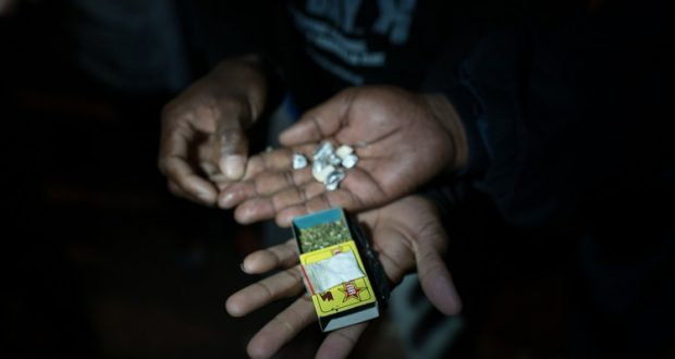 Mandrax and dagga are the drugs most often confiscated during Operation Wanya Tsotsi's routine stop and searches. Tik is also increasingly common.
