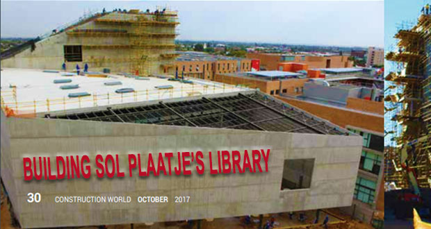Building Sol Plaatje's Library