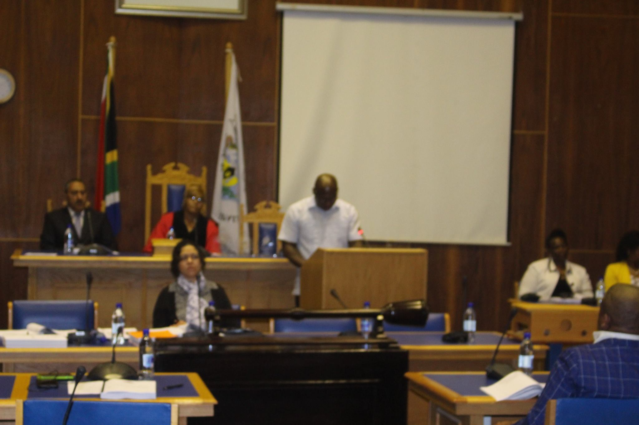 PEECH OF THE EXECUTIVE MAYOR ON THE OCASSION OF THE ORDINARY COUNCIL MEETING ON 4 OCTOBER 2017