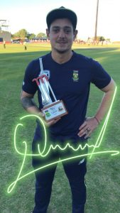 Congratulations to Man of the Match, Quinny DeKock - 69