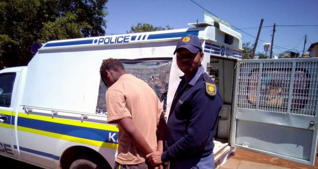Young Man Arrested Housebreaking & Murder by SAPS