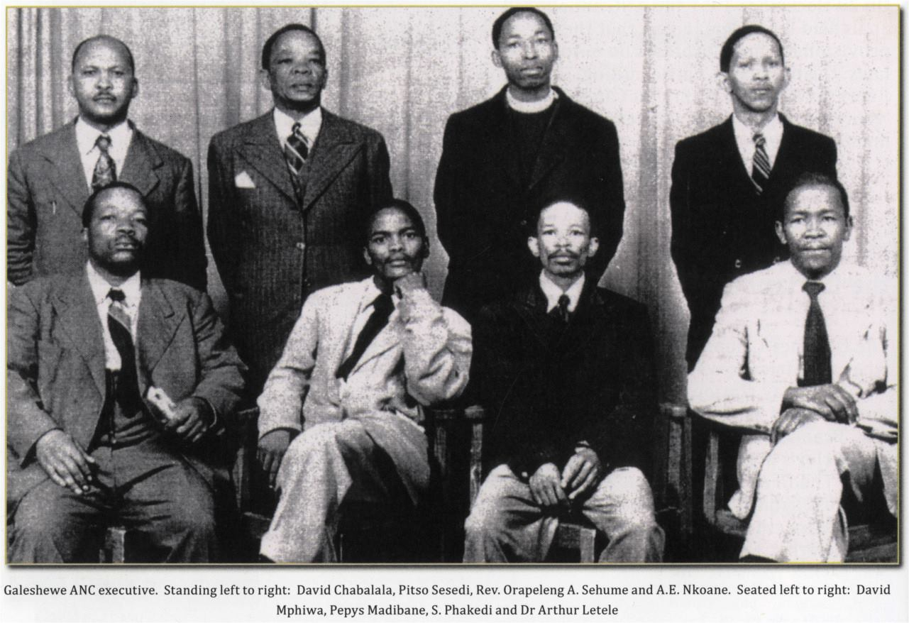 Galeshewe ANC Executive - 1952