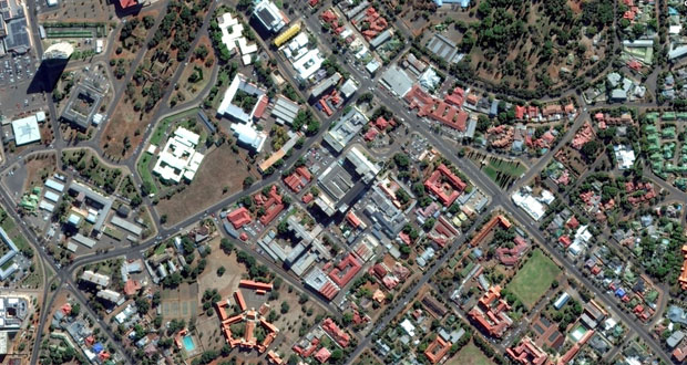 Kimberley Hospital Complex Google Arial View