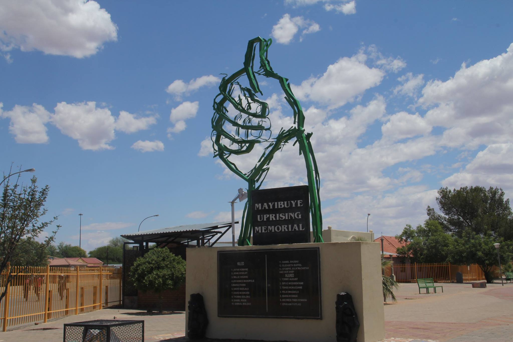 The Mayibuye Memorial - Galeshewe Kimberley