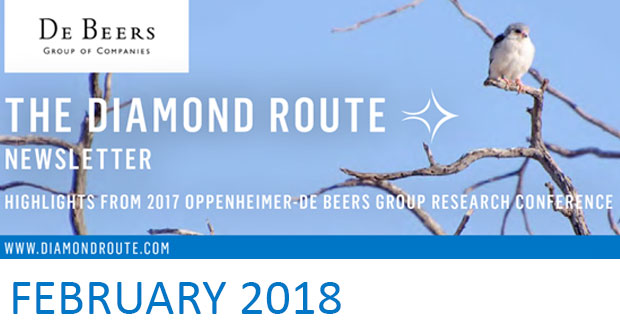 The Diamond Route Newsletter - February 2018