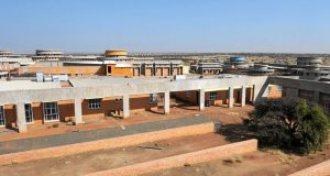 The Kimberley Mental Health Hospital in construction