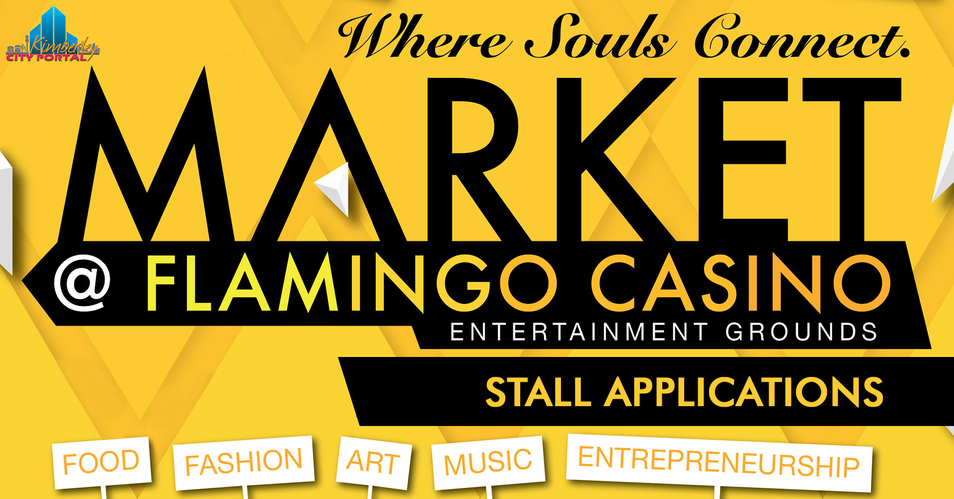 Pino Tau Market at flamingo stall applications