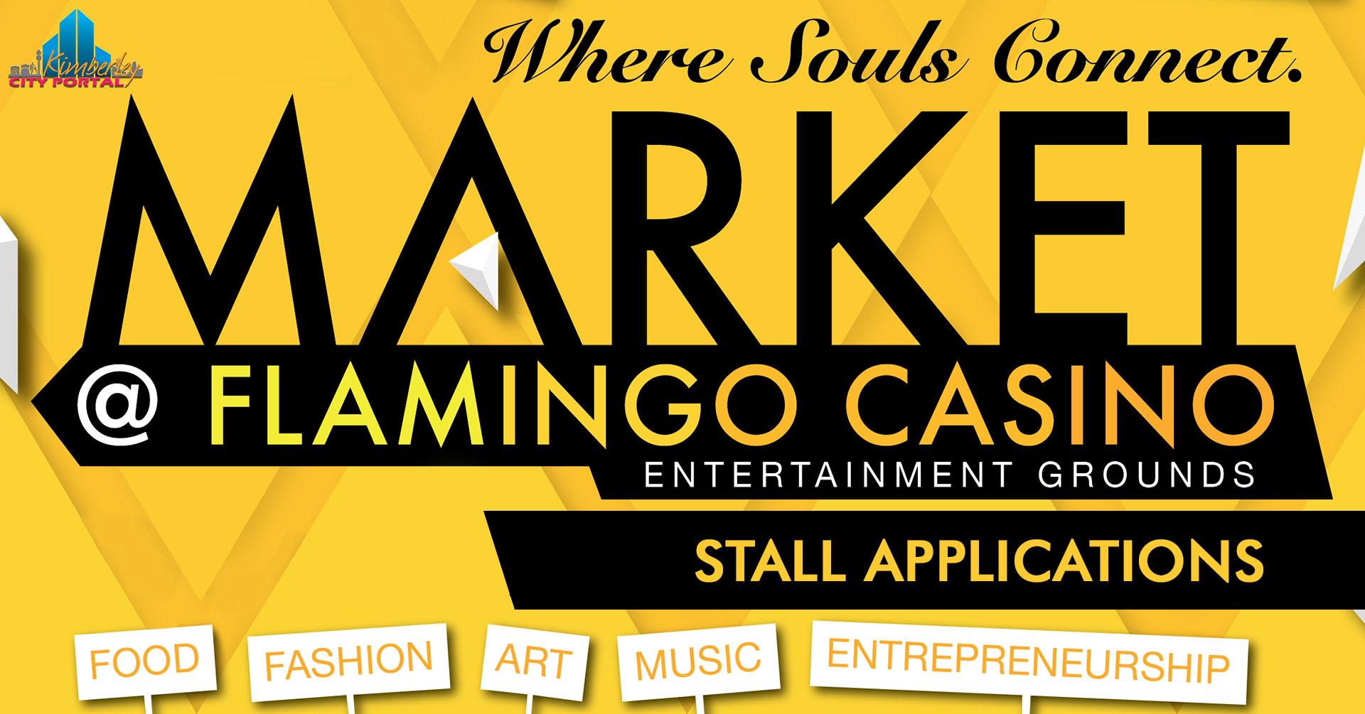 Pino Tau Market at flamingo stall applications
