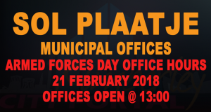 PT-Sol_Plaatje-Office-Armed_Forces_Day_Hours-20180221