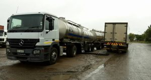 Free water this weekend at Hancor Dairy Truck
