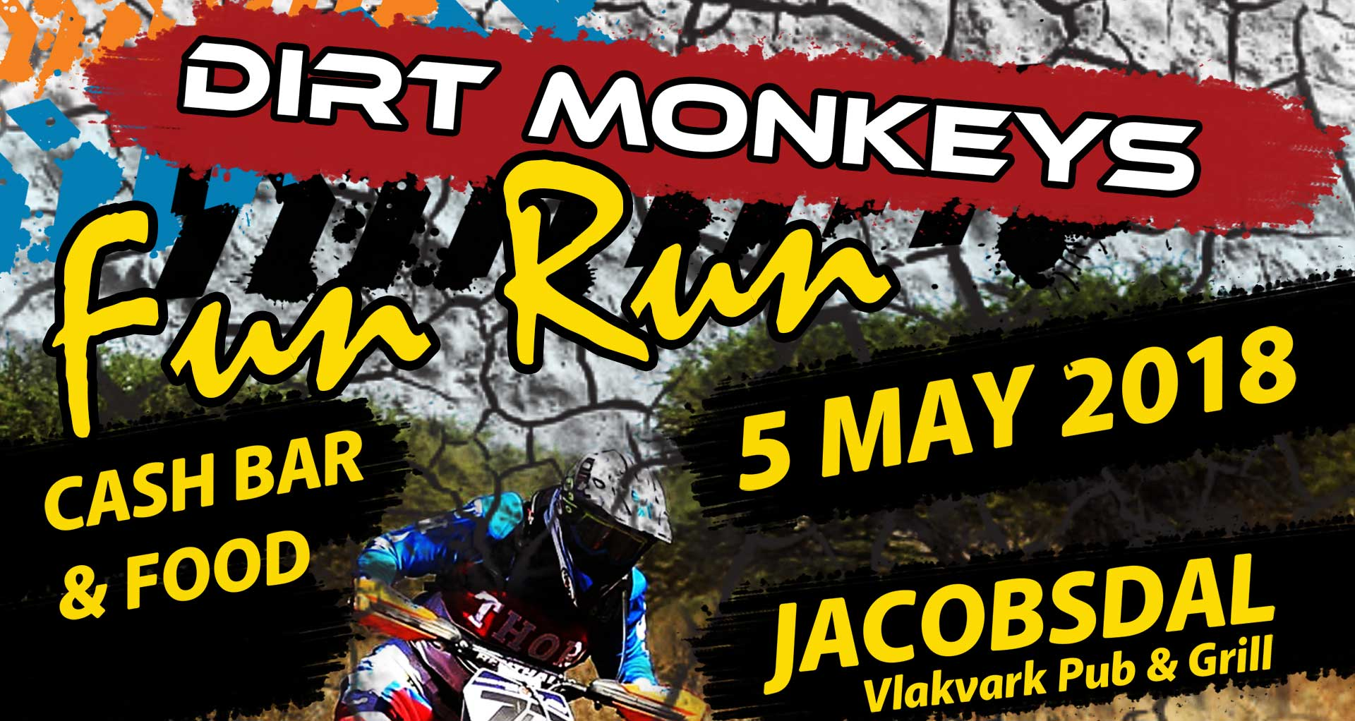 The Dirt Monkey Fun Run Race Header 2018