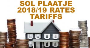 Kimberley Sol Plaatje 2018 Electricity and water rates and tariffs