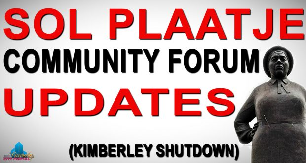 Sol Plaatje Community Forum Updes - Kimberley Shutdown Strike Campaign