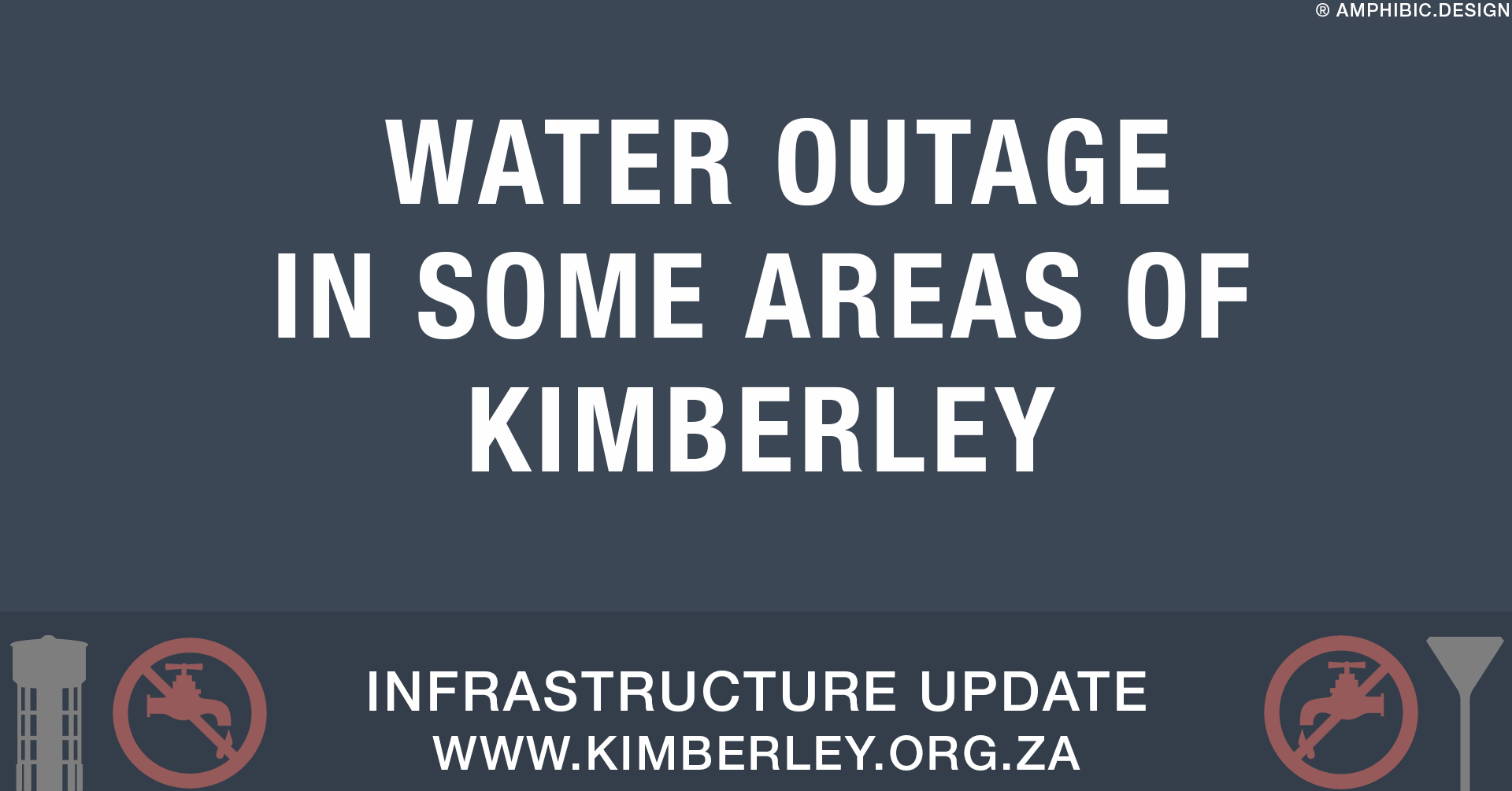 Water outage in some parts of Kimberley Sol Plaatje